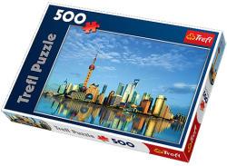 Trefl Sanghaj Kína 500 db-os (37163)