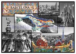 Trefl Barcelona Spanyolország kollázs 500 db-os (37169)