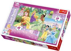 Trefl Disney Hercegnők 24 és 48 db-os (34103)