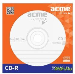 ACME CD-R 700MB 52x papírtok
