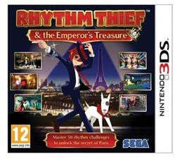 SEGA Rhythm Thief the Emperor's Treasure (3DS)