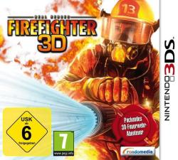 Reef Entertainment Real Heroes Firefighter 3D (3DS)