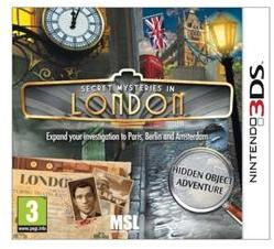 Licensed 4U Secret Mysteries in London (3DS)