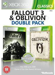 Bethesda Double Pack: Fallout 3 + The Elder Scrolls IV Oblivion (Xbox 360)