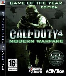 Activision Call of Duty 4 Modern Warfare [Game of the Year Edition] (PS3)