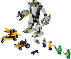 LEGO Tini Nindzsa Teknőcök - Baxter robot tombolása (79105)