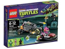 LEGO Tini Nindzsa Teknőcök - Stealth Shell üldözőben (79102)