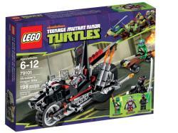 LEGO Tini Nindzsa Teknőcök - Zúzó sárkánymotorja 79101