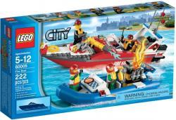LEGO City - Tűzoltó csónak 60005