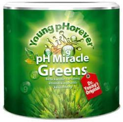Young pHorever Ph Miracle Greens lúgosító por 220 g