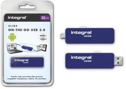 Integral Slide 32GB INFD32GBSLDOTG3