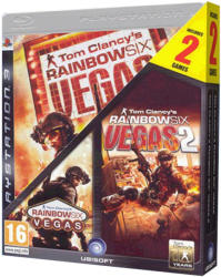 Ubisoft Tom Clancy's Rainbow Six Vegas + Rainbow Six Vegas 2 (PS3)