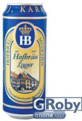 HB Hofbräu dobozos sör 0,5l 4%