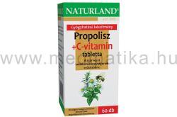Naturland Propolisz+C-vitamin tabletta - 60 db