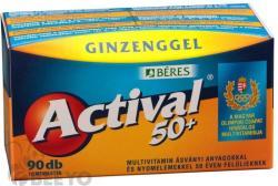 BÉRES Actival 50+ Filmtabletta Ginzenggel (90db)