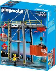 Playmobil Elektromos rakodóhíd konténerekkel (5254)