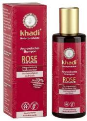 Khadi Rózsa sampon sérült töredezett hajra 210ml