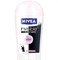 Nivea Invisible For Black & White Clear (Deo stick) 40ml