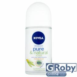 Nivea Pure & Natural Action - Jasmine Scent (Roll-on) 50ml