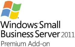 Microsoft Windows Small Business Server 2011 Premium AddOn ENG (5 CLT, 1-4 CPU) 2YG-00342