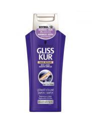 Gliss Kur Ultimate Volume hajregeneráló sampon vékonyszálú hajra 250ml