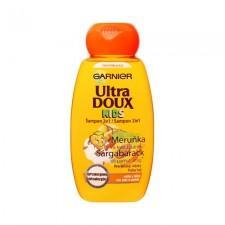 Garnier Ultra Doux Kids sampon sárgabarack és pamut virág 250ml