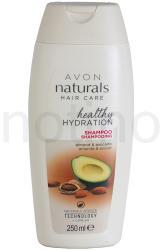 Avon Naturals Hair Care regeneráló sampon száraz és sérült hajra (Almond Oil and Avocado Moisturizing Shampoo) 250ml