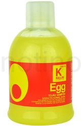 Kallos Hair Care tápláló sampon száraz és normál hajra (Egg Shampoo) 1000ml