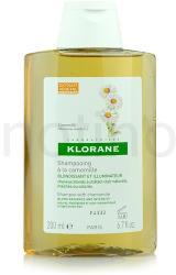 Klorane Camomille sampon szőke hajra (Golden Highlights Shampoo) 200ml