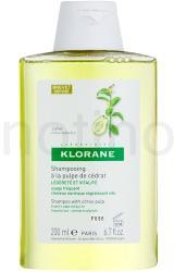 Klorane Cédrat sampon minden hajtípusra (Shampoo with Citrus Pulp) 200ml