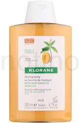Klorane Mangue tápláló sampon száraz hajra (Nourishing Shampoo with Mango Butter) 200ml