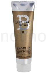 TIGI Bed Head B for Men sampon finom és lesimuló hajra (Charge Up Thickening Shampoo) 250ml