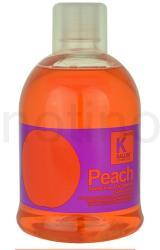 Kallos Hair Care tápláló sampon száraz és törékeny hajra (Peach Conditioning Shampoo) 1000ml