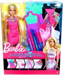 Mattel Barbie Ruhatervező készlet babával