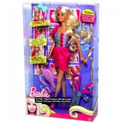 Mattel Barbie cserélhető szőke tincsekkel