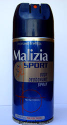 Malizia Sport (Alcohol Free) (Deo spray) 150ml