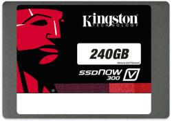 "Kingston SSDNow V300 2.5"" 240GB SATA 3 Upgrade Bundle Kit SV300S3B7A/240G"