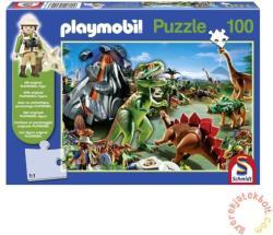 Schmidt Spiele Playmobil - Dinoszauruszok országa 100 db-os (56042)