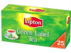 Lipton Green Label Zöld Tea 25 filter