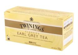 TWININGS Earl Grey - fekete Tea 25 filter