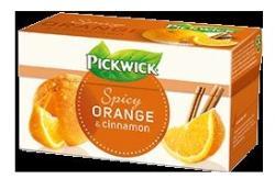 Pickwick Fruit Amour Gyümölcstea - fűszeres narancs, 20 filter