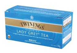 TWININGS Lady Grey tea 25 filter