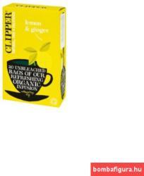 Clipper Bio Koffeinmentes Citrom-Gyömbér 20 filter