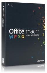 Microsoft Office:mac 2011 Home & Business ENG W6F-00202