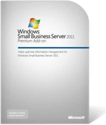 Microsoft Windows Small Business Server 2011 Premium AddOn 64bit ENG (1 CLT) 2YG-00361