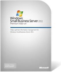 Microsoft Windows Small Business Server 2011 Premium AddOn 64bit ENG (1 CLT) 2YG-00361