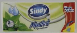 Sindy Menthol papírzsebkendő 100db