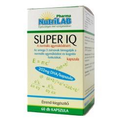 Nutrilab Super IQ kapszula 60db