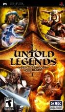 Sony Untold Legends Brotherhood of the Blade (PSP)