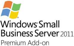 Microsoft Windows Small Business Server 2011 Premium AddOn ENG (5 CLT, 1-4 CPU) 2YG-00342